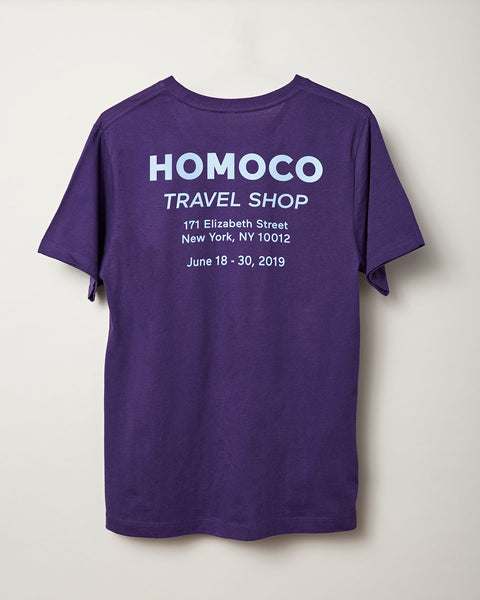 Purple Travel Shop – T-shirt