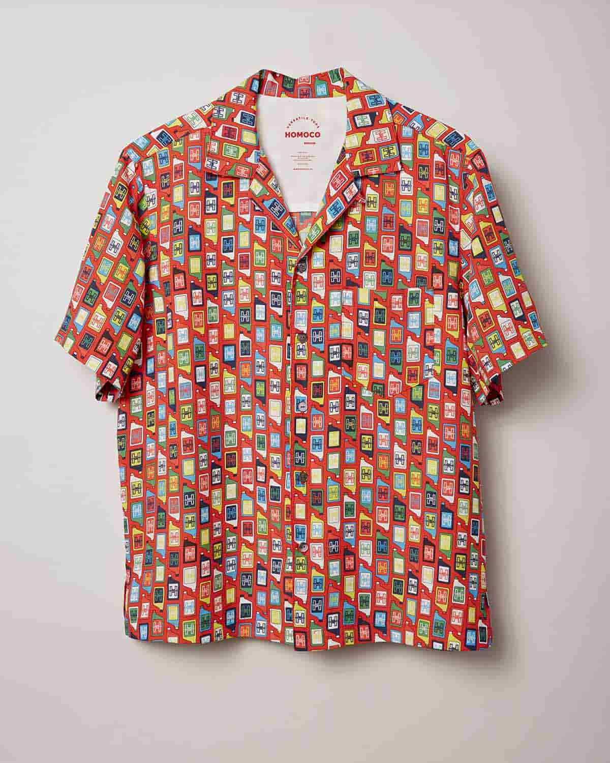 Red Bottles – Camp Shirt