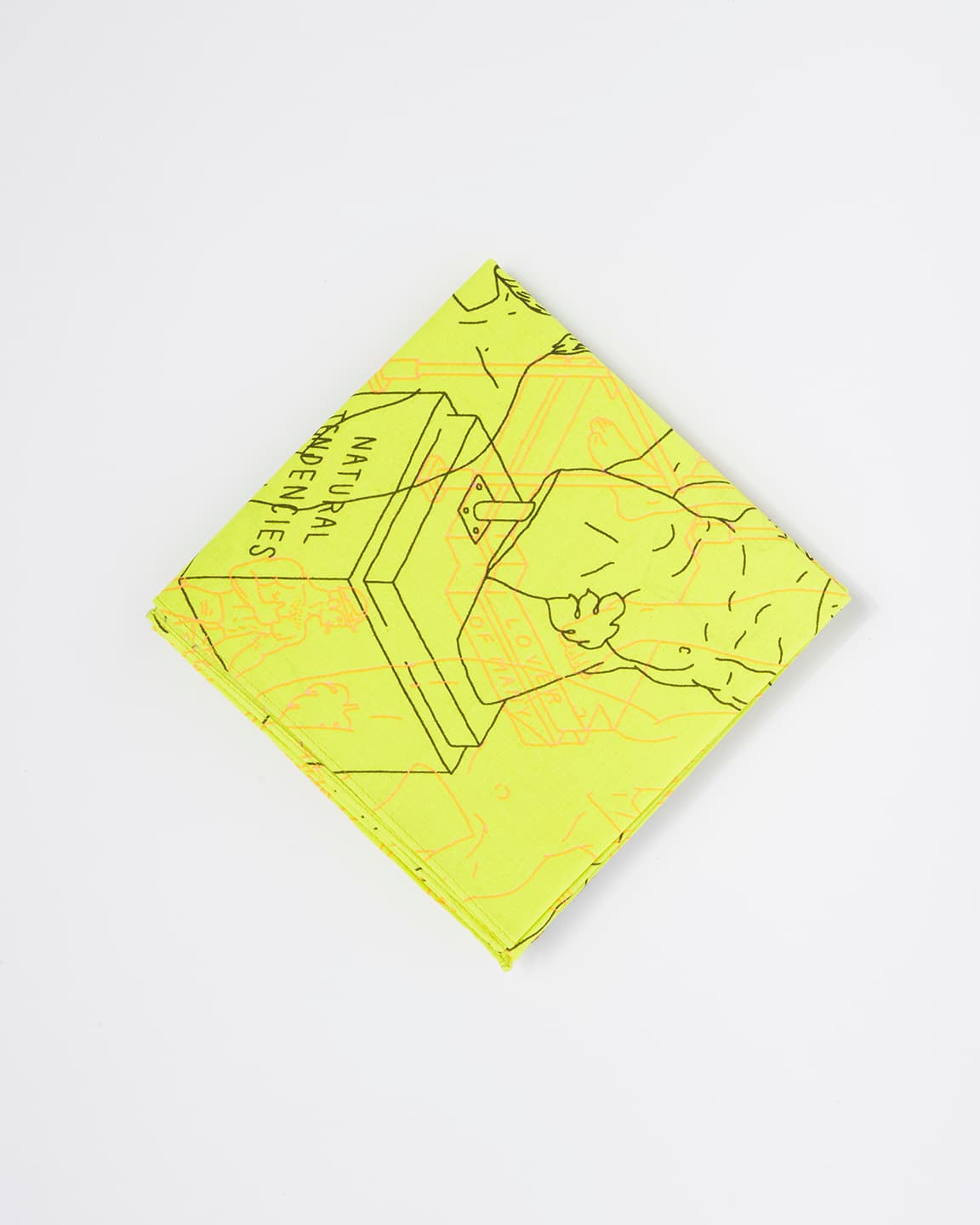Safety Green Tom's Full Service – Bandana