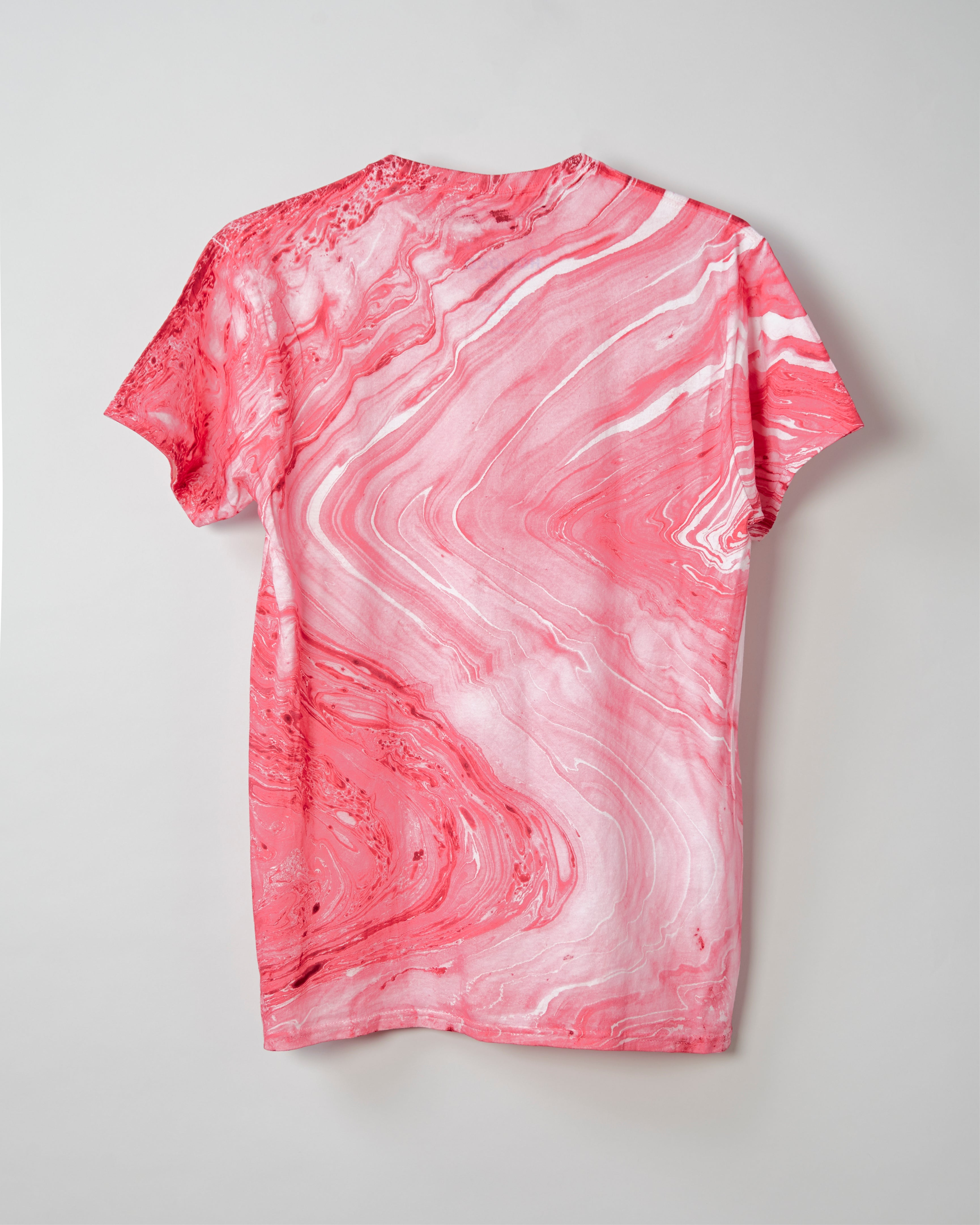 HOMOCO Thank You T-Shirt - Red Marble