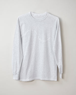 Squiggle Long Sleeve Shirt - Ash