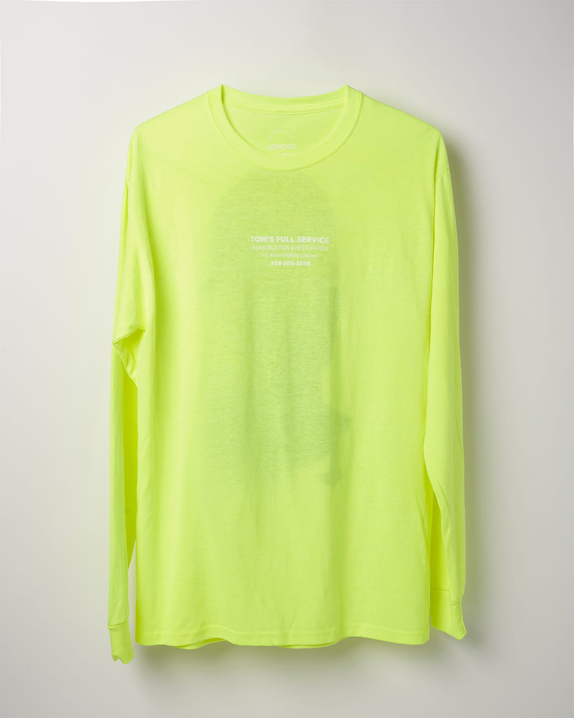 Safety Green Bust – Long Sleeve T-shirt