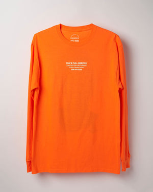 Safety Orange Bust – Long Sleeve T-shirt