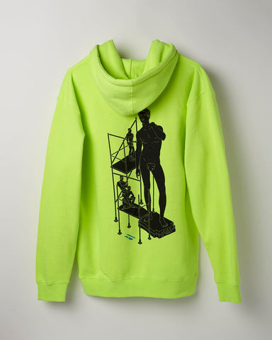 Safety Green Lover of Many – Hoodie