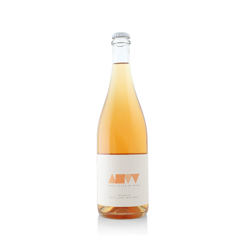 Architects of Wine Sparkling Rosato Natural Wine Organic Wine