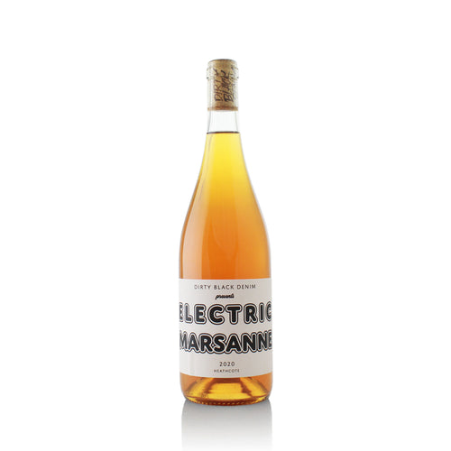 Dirty Black Denim Electric Marsanne Natural Wine Organic Wine Australia