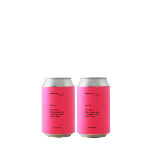 Empirical Spirits Sour cherry | black currant buds | young pine cones | walnut wood - 2 Pack - NOTWASTED - Natural Wine Online Australia Delivery Sydney