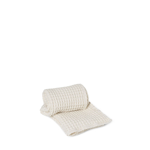 Ferm Living Organic Hand Towel Off-White - NOTWASTED - Natural Wine Online Australia Delivery Sydney