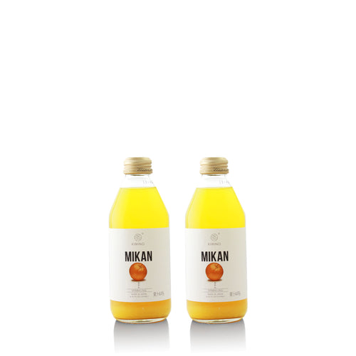 Kimino Mikan Sparkling Juice - 2 Pack - NOTWASTED - Natural Wine Online Australia Delivery Sydney