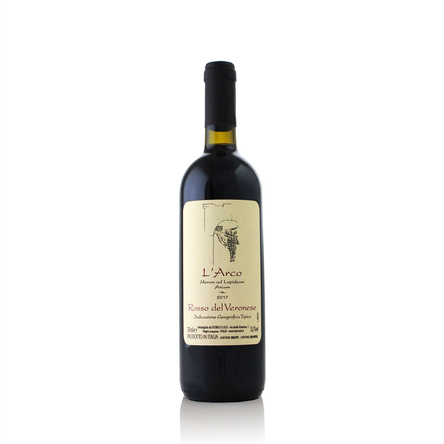 2017 L'Arco Rosso del Veronese Red Blend - NOTWASTED - Natural Wine Online Australia Delivery Sydney