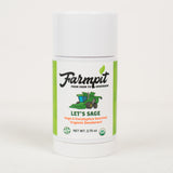 Let's Sage - USDA Certified Organic All Natural Deodorant