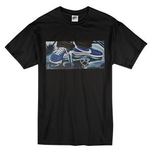 """Cruisin'"" Blue Line Limited Edition Short-Sleeve Mr. Criminal T-Shirt"