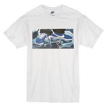 "Load image into Gallery viewer, ""Cruisin'"" Blue Line Limited Edition Short-Sleeve Mr. Criminal T-Shirt"