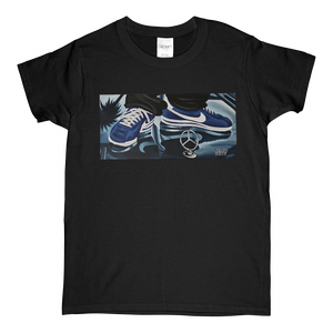 """Cruisin'"" Blue Line Limited Edition Short-Sleeve Women's Mr. Criminal T-Shirt"