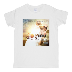 """Palm Trees & Sunsets Album"" Short-Sleeve Women's Mr. Criminal T-Shirt"