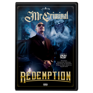 Redemption by Mr. Criminal - 3 Disc Album plus DVD