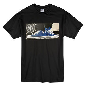 """The Street"" Blue Line Limited Edition Short-Sleeve Mr. Criminal T-Shirt"