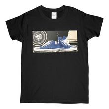 "Load image into Gallery viewer, ""The Street"" Blue Line Limited Edition Short-Sleeve Women's Mr. Criminal T-Shirt"