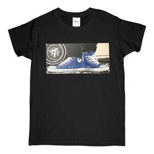 """The Street"" Blue Line Limited Edition Short-Sleeve Women's Mr. Criminal T-Shirt"