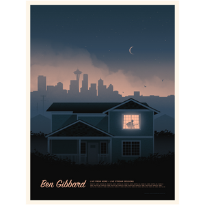 Ben Gibbard-Live from Home Poster