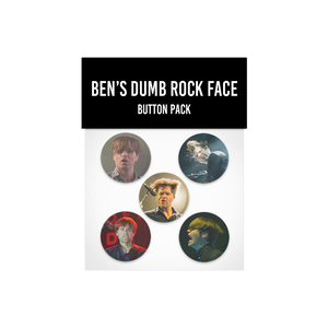 Ben Gibbard Button Pack