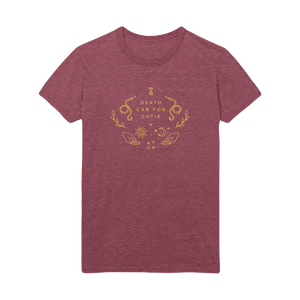 Celestial Tee - Heather Burgundy
