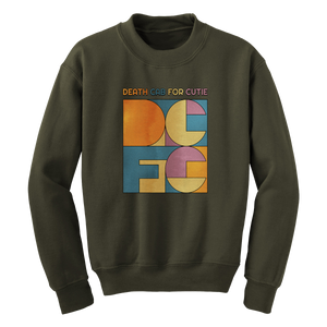 Death Cab For Cutie Color Block Sweatshirt