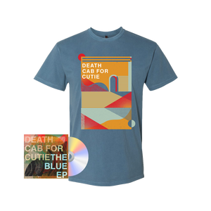 Textured Shapes T-Shirt + The Blue EP Media