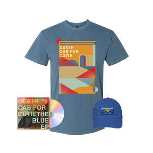 Textured Shapes T-Shirt + Hat + The Blue EP
