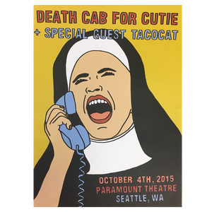 Paramount Theatre Seattle 10/4/2015 Poster