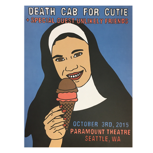 Paramount Theatre Seattle 10/3/2015 Poster