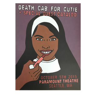 Paramount Theatre Seattle 10/5/2015 Poster