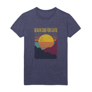 Sunset Heather Navy Tee