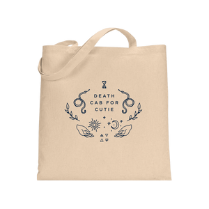 Symbols Tote Bag-Natural