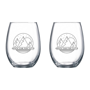 Mountain Wine Glass (Set of 2)