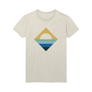 Sunset Diamond Tee - Natural