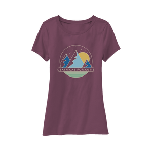Women's Night Sky Tee - Eggplant