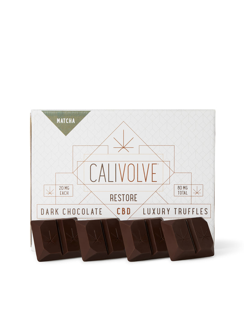 best hemp infused chocolate edible CBD relaxing soothing calming tasty japanese green tea flavors