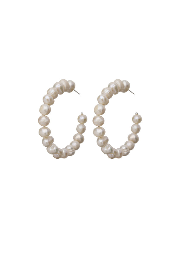 Shuck it pearl earrings