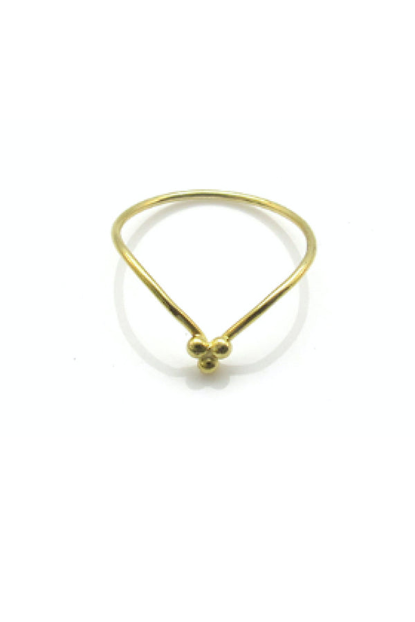 SIMPLE LIVING RING - GOLD