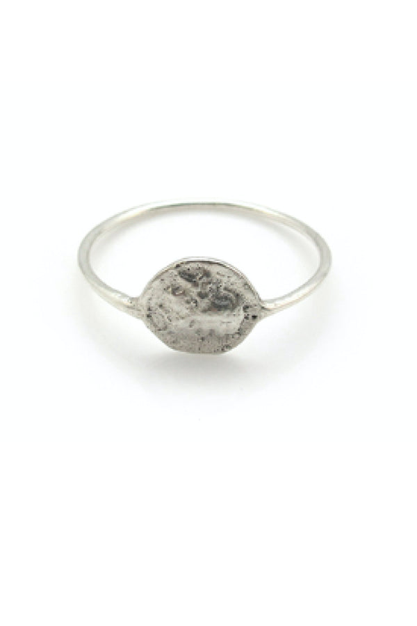 COIN RING - SILVER