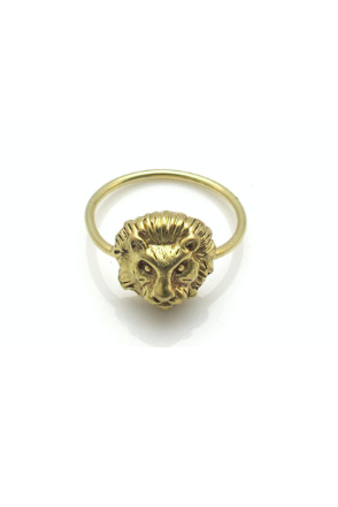 LEADER OF THE PACK RING - GOLD