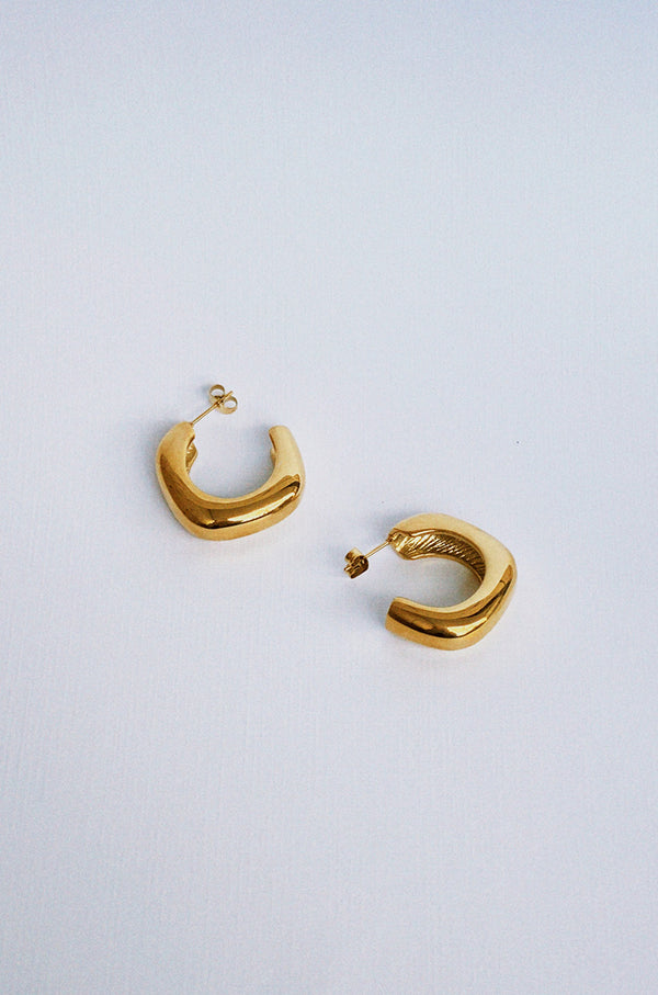 Sunshine Hoop Earrings