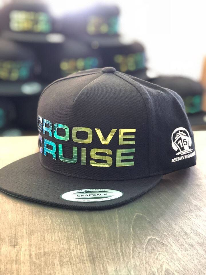 Groove Cruise 15th Anniversary Disco Script Hat - LAST CHANCE