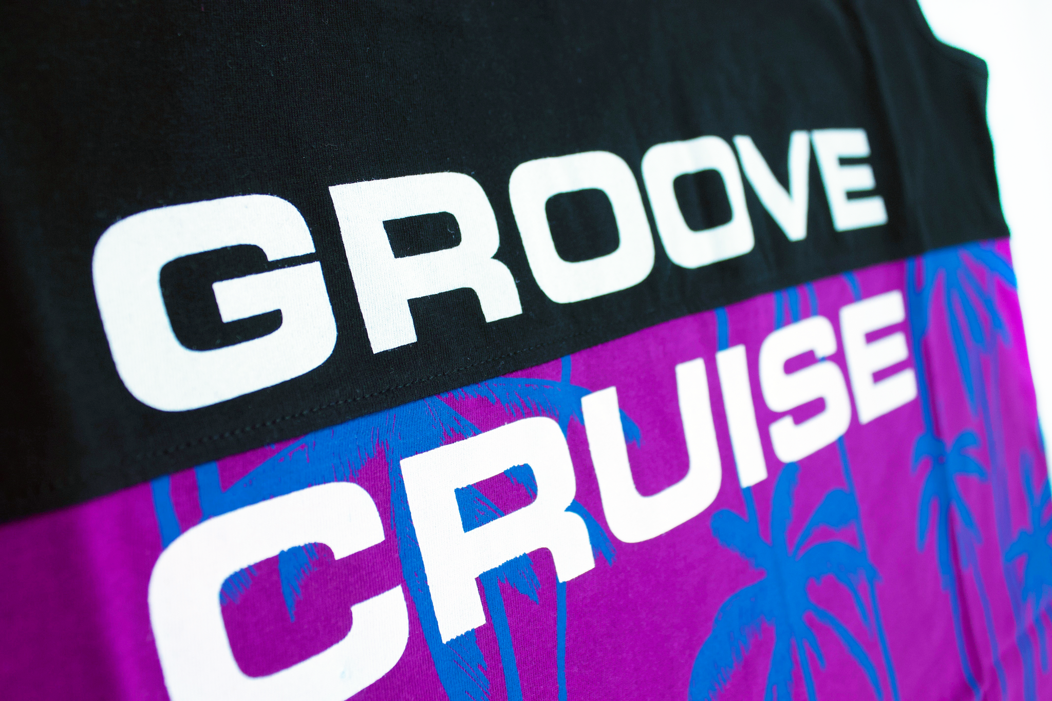 Mens - Groove Cruise Two-Tone, Royal Purple Tank - PRESALE ONLY
