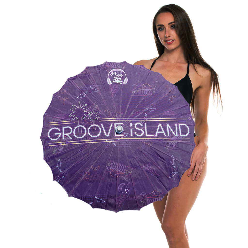 Groove Island Parasol