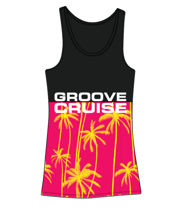 Womens - Groove Cruise Two-Tone, Sunburst Tank