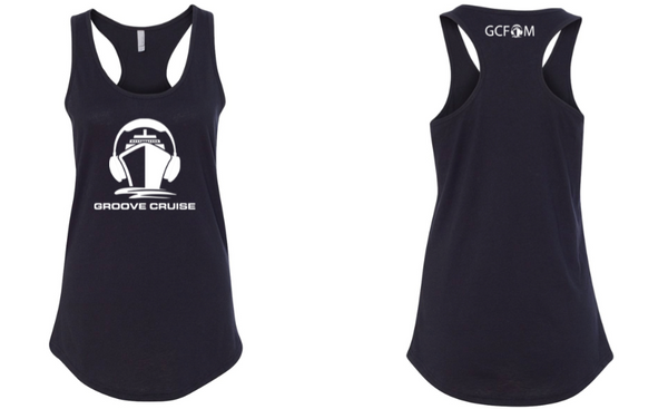 Groove Cruise Womens Racerback Tank