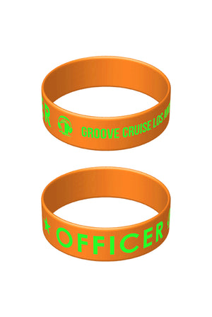 Officer Wristband (Orange)