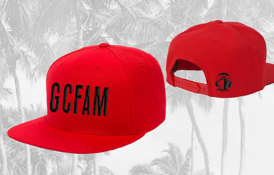 Groove Cruise GCFAM Snapback (Red) - LAST CHANCE